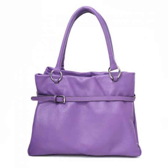 Women's Leather Handbag, Nora, Eva Schreiber