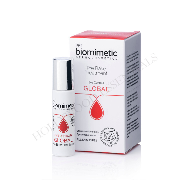 Biomimetic Skin Whitening Eye Contour Global Pre-Base Treatment, 10ml