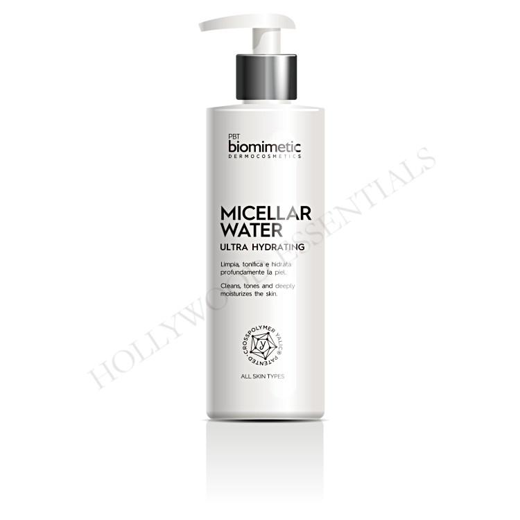 Biomimetic Skin Whitening Micellar Water Ultra Hydrating Cleansing Toner, 250ml