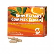 Body Balance Complex Classic Diet Pills Weight Loss Supplements - 120 Capsules