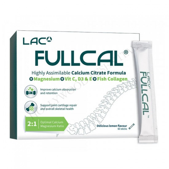 LAC FullCal™ Calcium Citrate Formula Bone Supplement (2.5g X 60 sticks)
