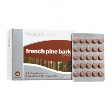 LAC MASQUELIER's® French Pine Bark Skin Whitening Supplement Pills (50 Tablets)