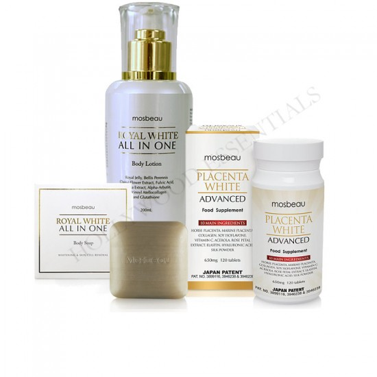 Mosbeau Noticeably Fair Skin Whitening Set