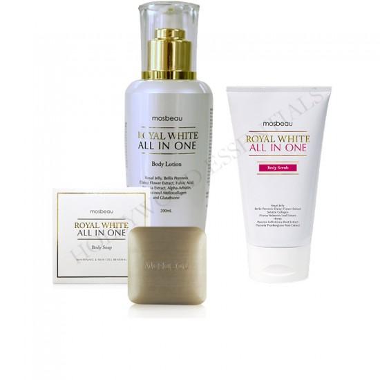 Mosbeau Complete Skin Whitening Bath Set