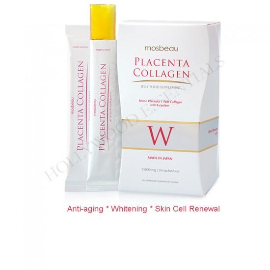 Mosbeau Placenta Collagen Jelly Glutathione Skin Whitening Supplement, 15000mg