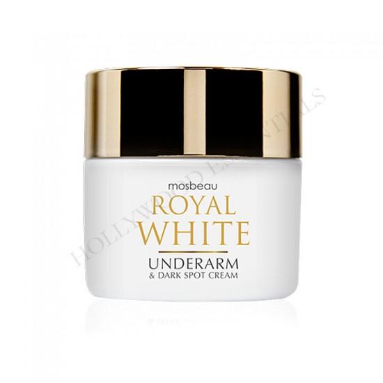 Glutathione, Placenta Skin Whitening Underarm Cream - Mosbeau Royal White Skin Whitening Underarm & Dark Spot Cream 50g