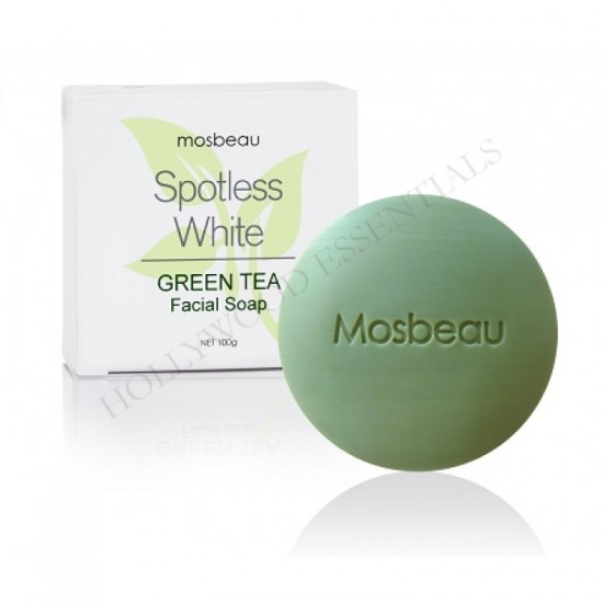 Spotless White Green Tea Skin Whitening Facial Soap 100g