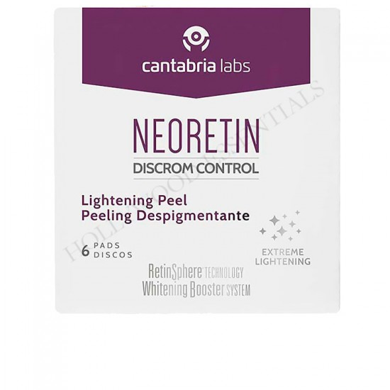 Neoretin Discrom Control Skin Whitening Lightening Peel Pads, 6ml
