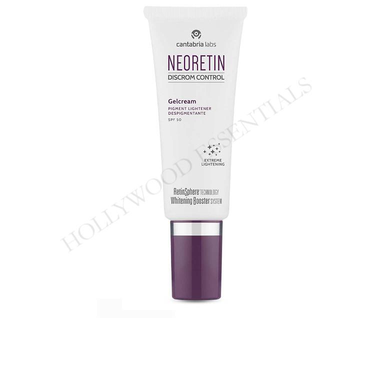 Neoretin Discrom Control Skin Whitening Sun Screen UV Protection Gel Cream SPF50, 40ml
