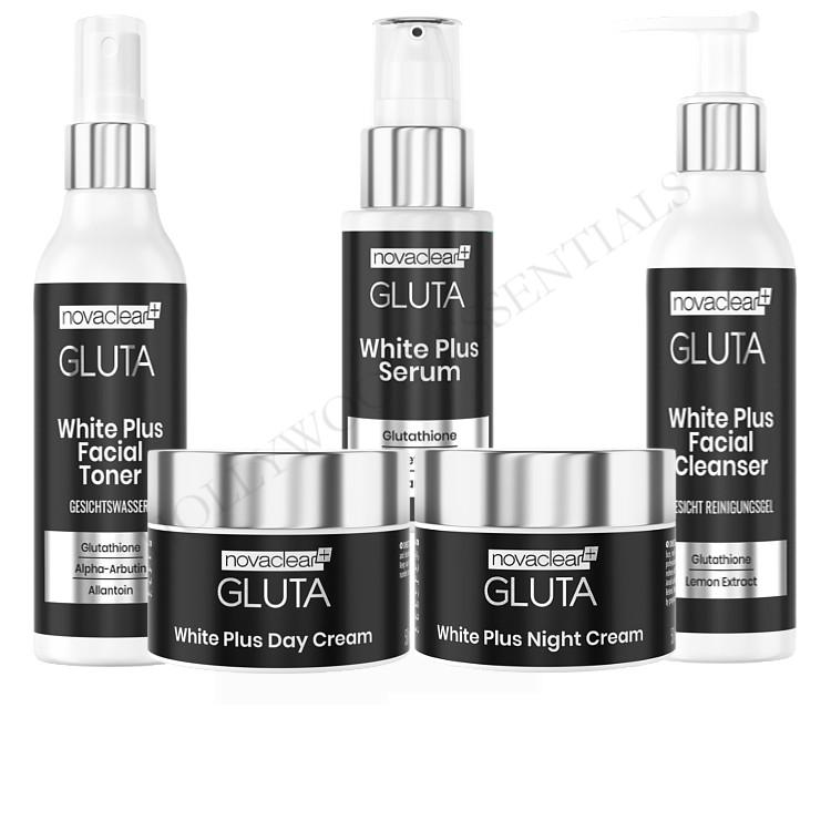 Novaclear Gluta White Plus Skin Whitening Set