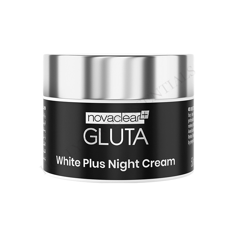Novaclear Glutathione Skin Whitening Night Cream, 50ml