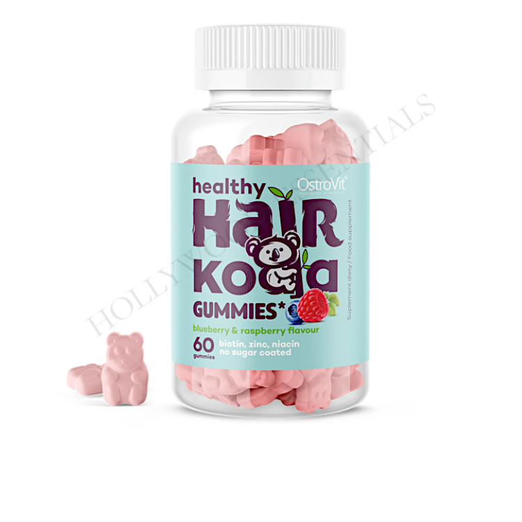 OstroVit Healthy Hair Koala Gummies - 60 pcs