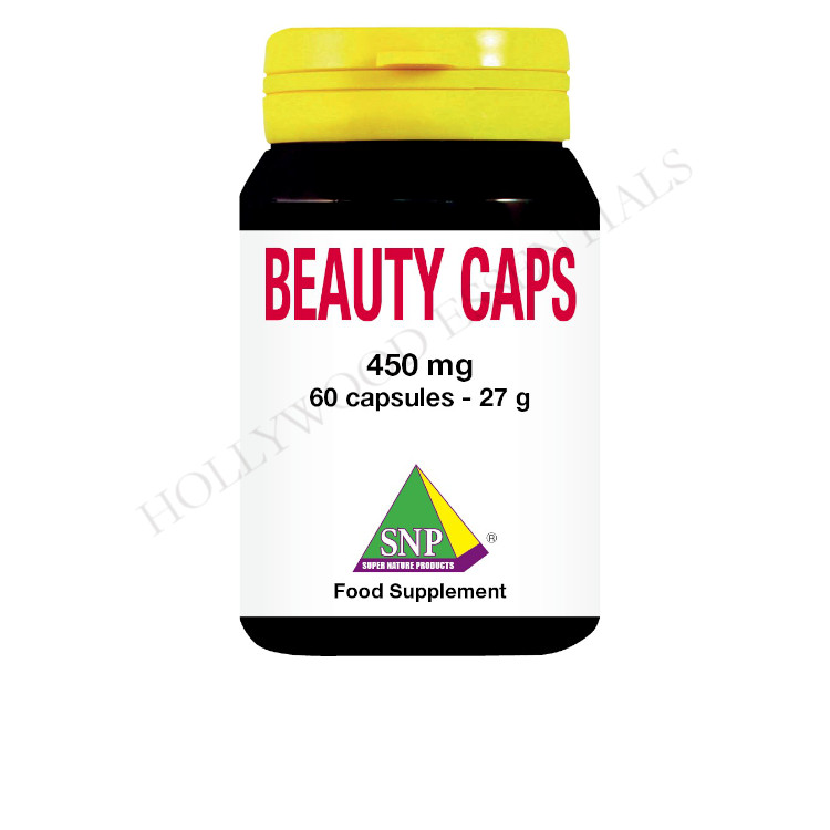 Beauty Caps Skin Whitening Supplement Pills, 450 mg - 60 Capsules