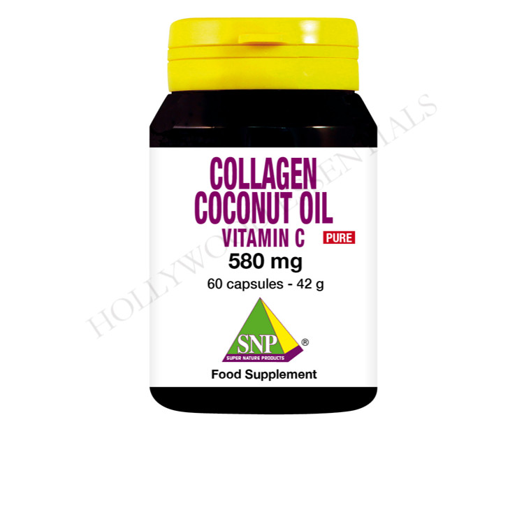 Collagen Skin Whitening Supplement Pills, 580 mg - 60 Capsules