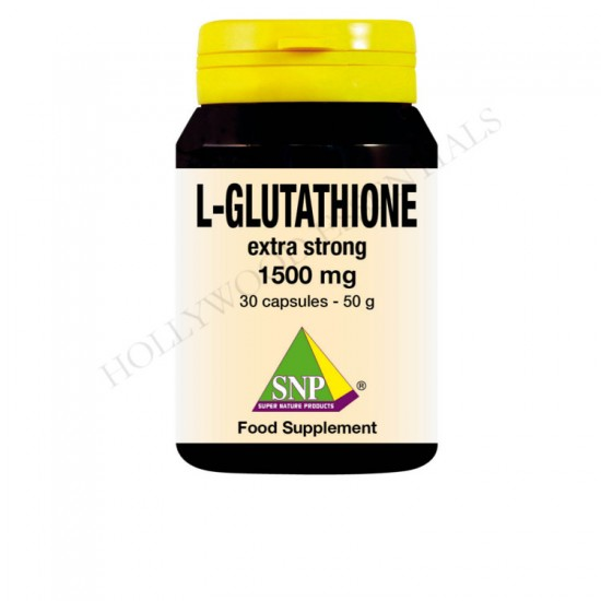 SNP® Glutathione Extra Strong Skin Whitening Supplement Pills, 1500 mg - 30 Capsules