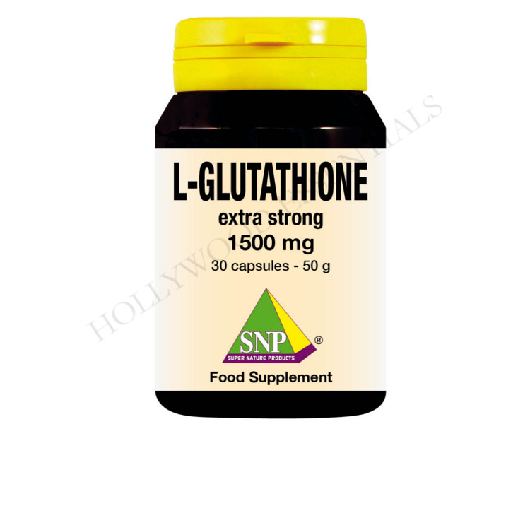 Glutathione Extra Strong Skin Whitening Supplement Pills, 1500 mg - 30 Capsules