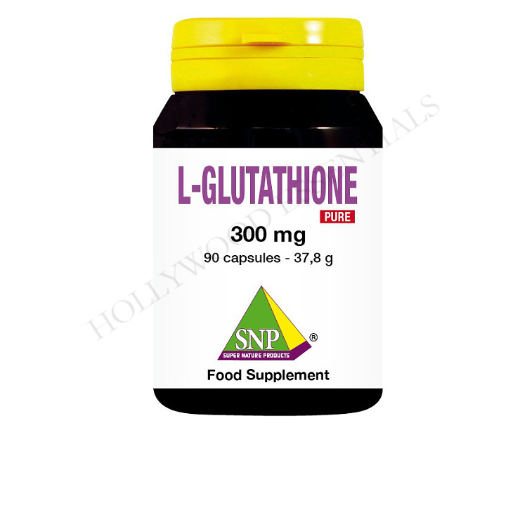 SNP® Glutathione Skin Whitening Supplement Pills, 300 mg - 90 Capsules