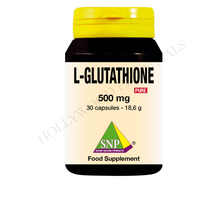 Glutathione Skin Whitening Supplement Pills, 500 mg - 30 Capsules