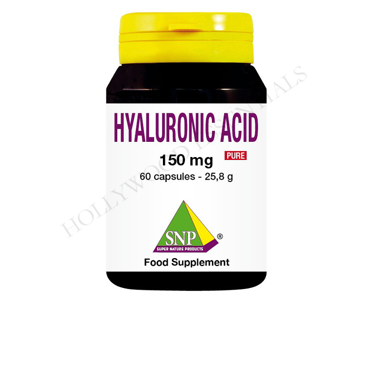 Hyaluronic Acid Skin Whitening Supplement Pills, 150 mg - 60 Capsules