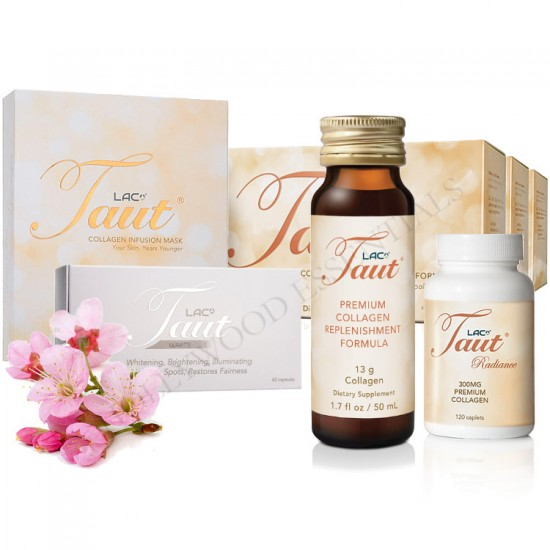 Taut® Premium Collagen Ultimate Skin Whitening Set