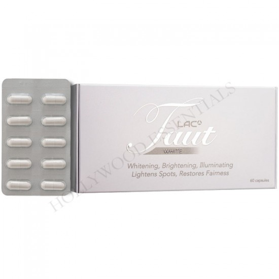 Taut® White Glutathione Skin Whitening Supplement Pills - 60 Capsules