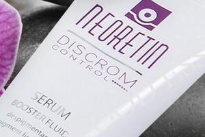 Neoretin Discrom Skin Whitening Cream, Whitening Serum and Skin Lightening Peel Pads