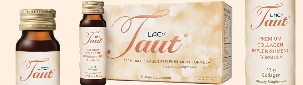 Taut® Collagen Drink, Anti-aging Whitening Supplement, 13000mg (50ml X 8 bottles)