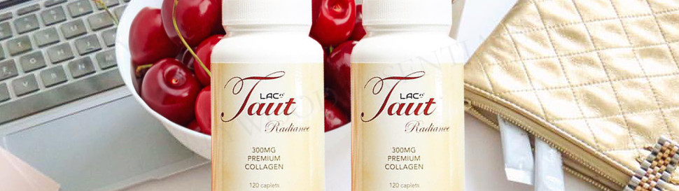 Taut® Radiance Collagen Whitening Supplement (120 Caplets)