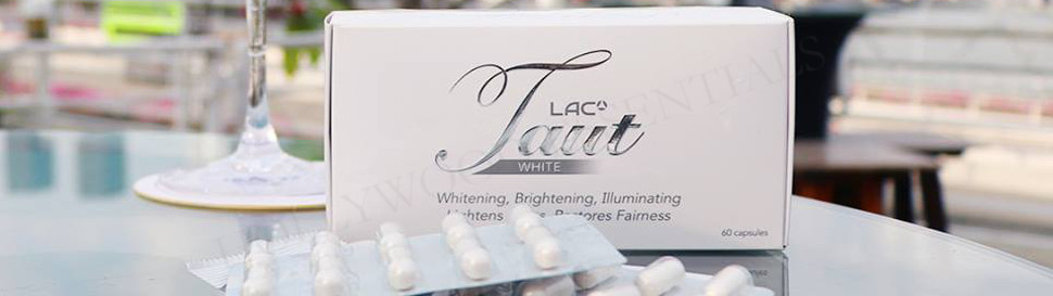 Taut® White Glutathione Whitening Supplement Pills - 60 Capsules